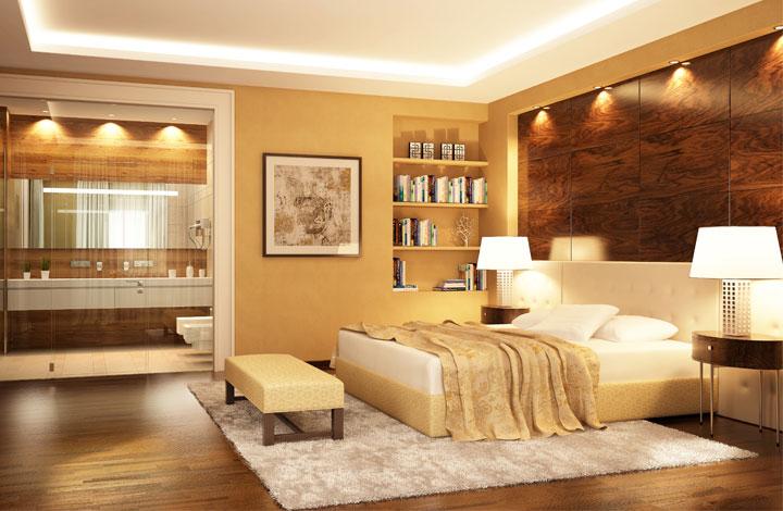 schlafzimmer gu10 3000k